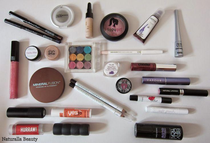 Naturalla Beauty: The Favorite Natural Makeup Tag