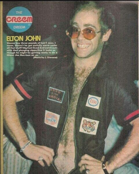 Cream magazine centerfold pic, 1975.