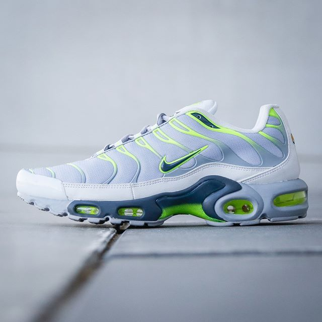 Nike air max tn plus white dress