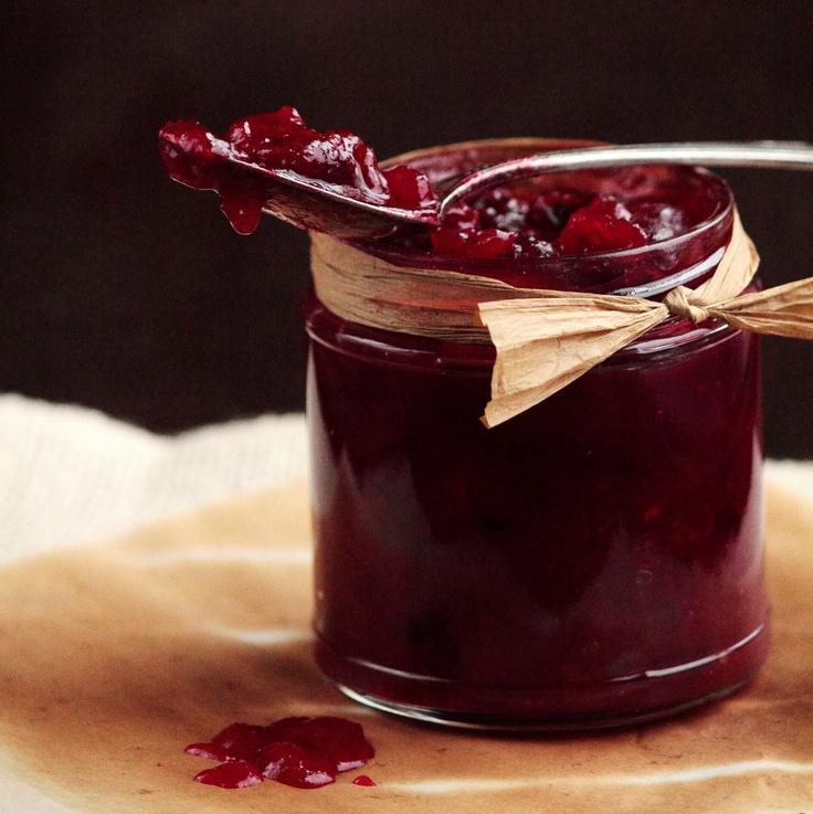 Homemade Cranberry Sauce | Christmas gifts | Pinterest