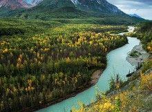 King Mountain and the Matanuska River Credit Photo joe ganster