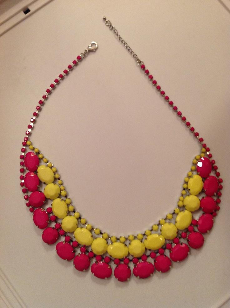 Amazing Painted Neon Bib Necklace. $32.00, via Etsy.: 32 00, Etsy, Amazing Painted, Sparkle, Bibs, Bib Necklaces, Neon Bib