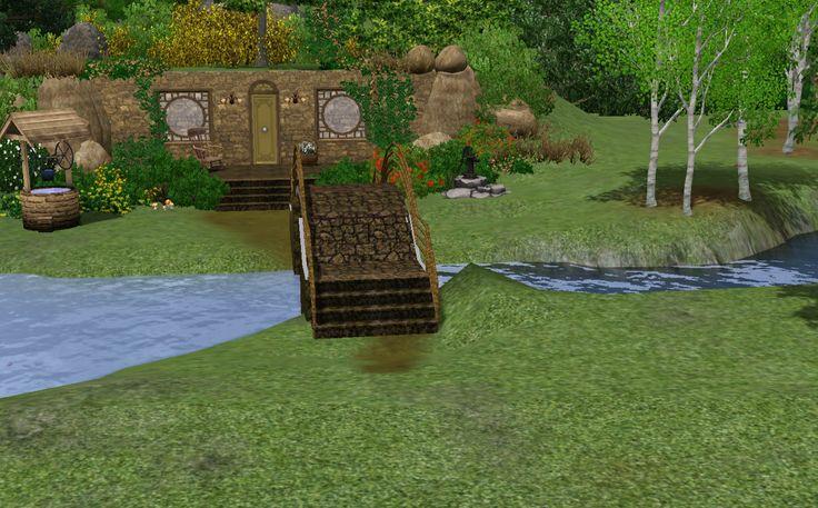 sims 3 Hobbit huisje