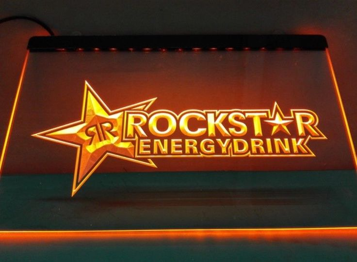 Rockstar Energy Drink Beer Club Pub Bar Nr Neon Light Sign 100% Satisfaction A+