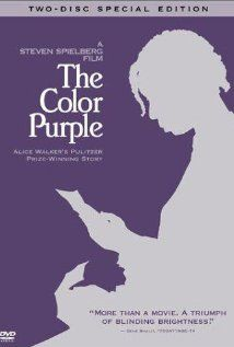 *THE COLOR PURPLE, (1985):  The life + trials of a young African American woman....Starring:  Danny Glover, Whoopi Golberg, Margaret Avery