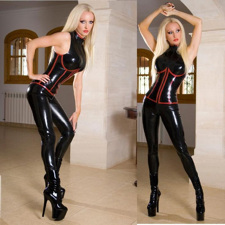 Sex In Catsuit 87