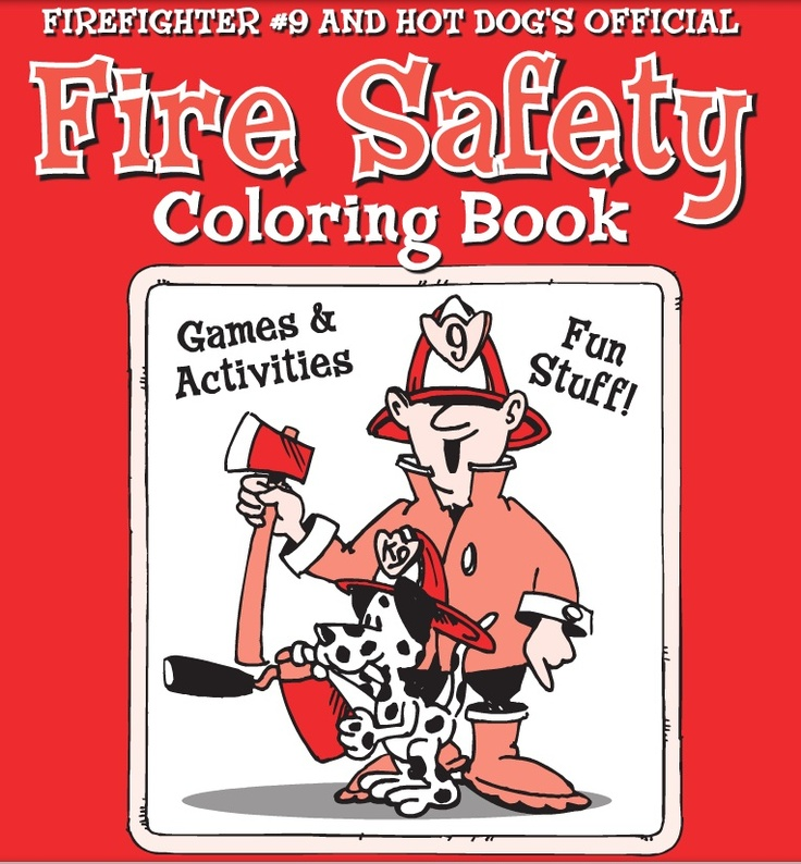 Fire safety Coloring