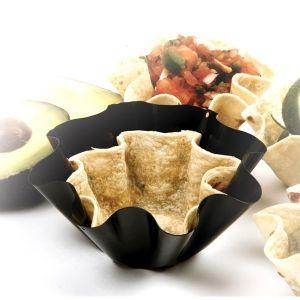 "4.5"" N/S PETITE TORTILLA BOWL MAKERS, 4 PCS http://www.coast2coastkitchen.com/store/specialty-kitchen-tools/ethnic-cooking/45-ns-petite-tortilla-bowl-makers-4-pcs-"