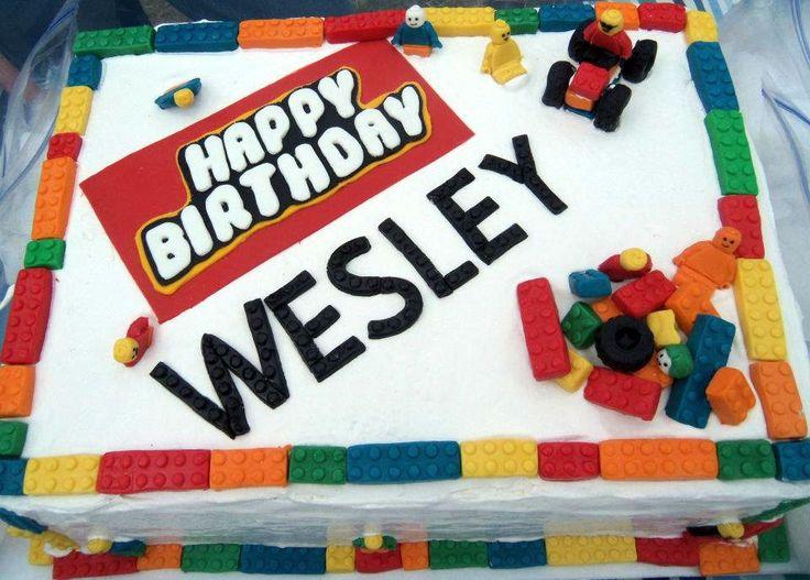 Lego Birthday Cake Molds