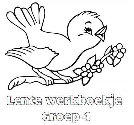 Lente Werkboekje Groep 4