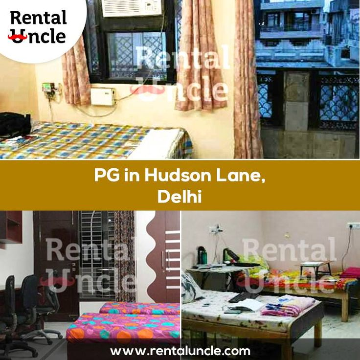 PGs in Hudson Lane, Delhi available with amenities including meals, Internet, Laundry, Parking, security and many more.Book your free assisted visit with rental uncle.   For more information click here: http://bit.ly/29vivFK **Zero Brokerage Policy**