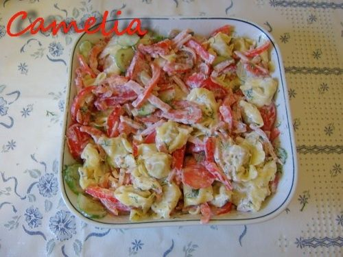 Salata cu tortellini - imagine 1 mare