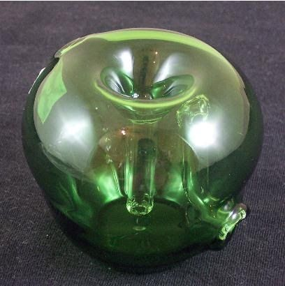 Glass Apple bubbler - always wanted a glass apple