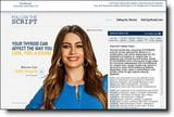 Actress Sofia Vergara is the paid spokesperson for the Follow the Script campaign promoting the thyroid drug Synthroid