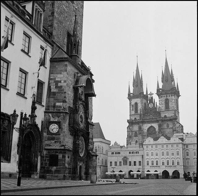 Staroměstské náměstí, Praha. - nobody