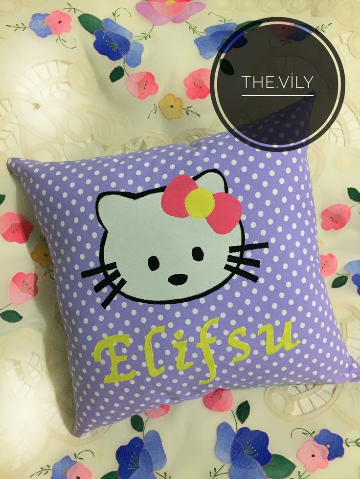 Hellokitty applique