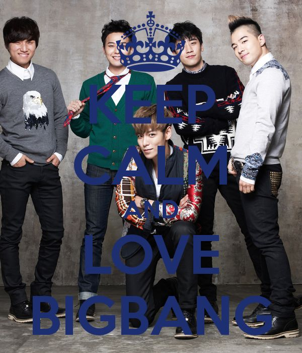 Just keep calm & love BIGBANG #bigbang #kpop