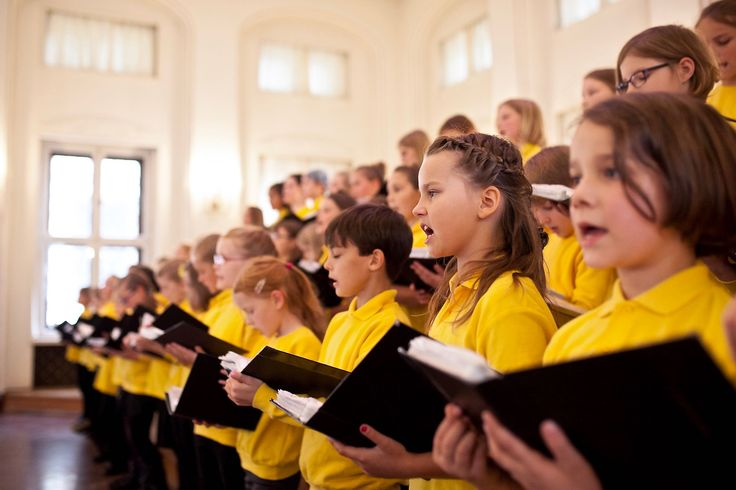 Kinderchor der Stadt Leipzig, Oktober 2017, Foto: Grit Hartung