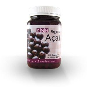 KNH Açai also contains omega fatty acids 6 & 9, fibre, amino acids, vitamins and minerals. Each KNH Açai capsule contains the equivalent to 10,000mg of these powerful little berries.