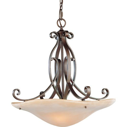 tech lighting topo antique bronze 36inch fourlight fluorescent pendant with heather gray shade and walnut wood trim