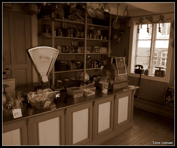 Old fashion store. Mannes, Rogaland, Norway. Tone Lepsoes pictures.