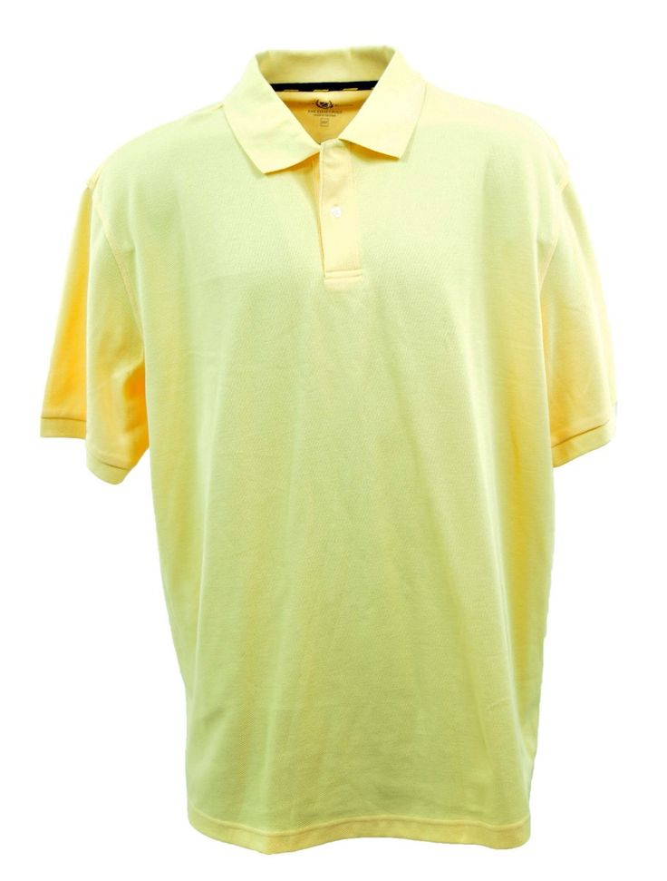 Club Room Mens Cotton Blend Big Tall Solid Polo Shirt