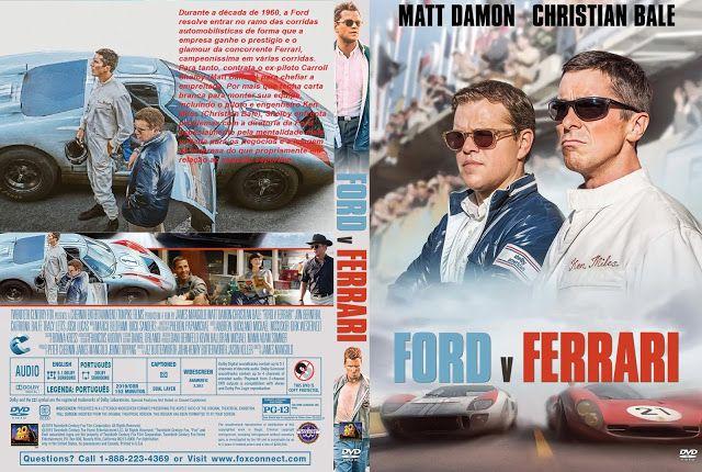 Capa Label Dvd Filme Ford Vs Ferrari 2019 Em 2020 Filme De Luta