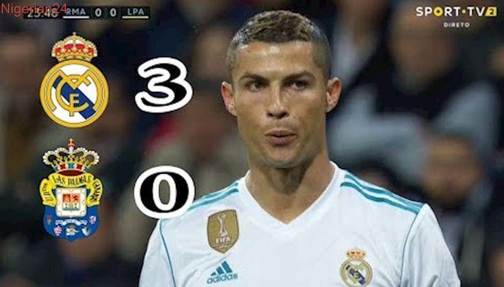 Real Madrid vs Las Palmas ( all goals - highlights ) 3/0