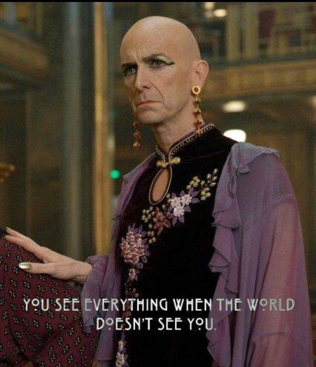 Dennis O'Hare as LIz Taylor (American Horror Story) is everything.