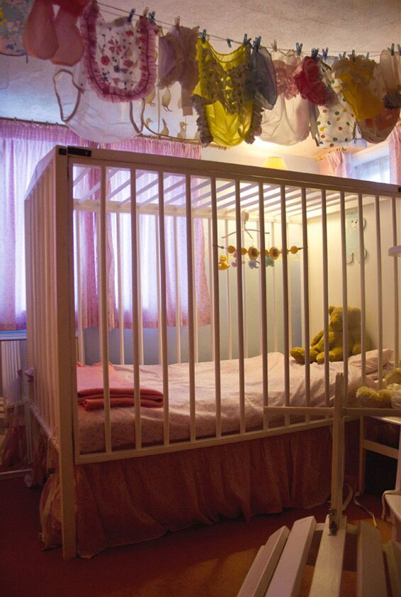 Adult baby crib accept. opinion