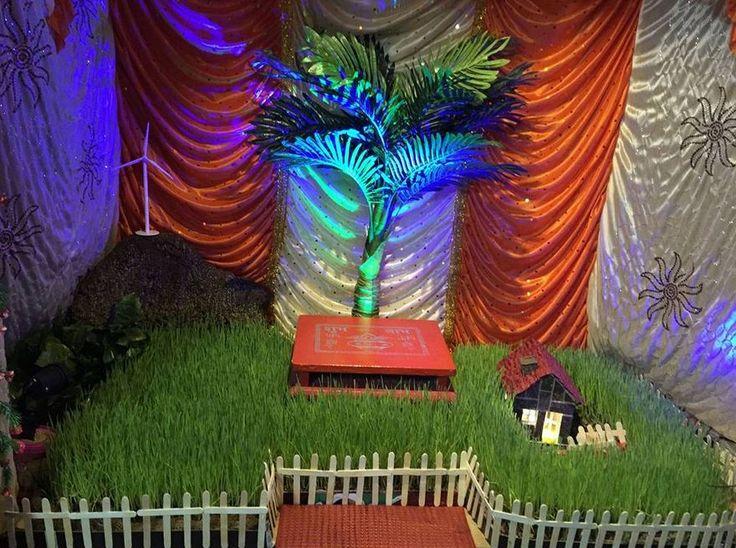 Ganpati Decoration Ideas at Home with Theme