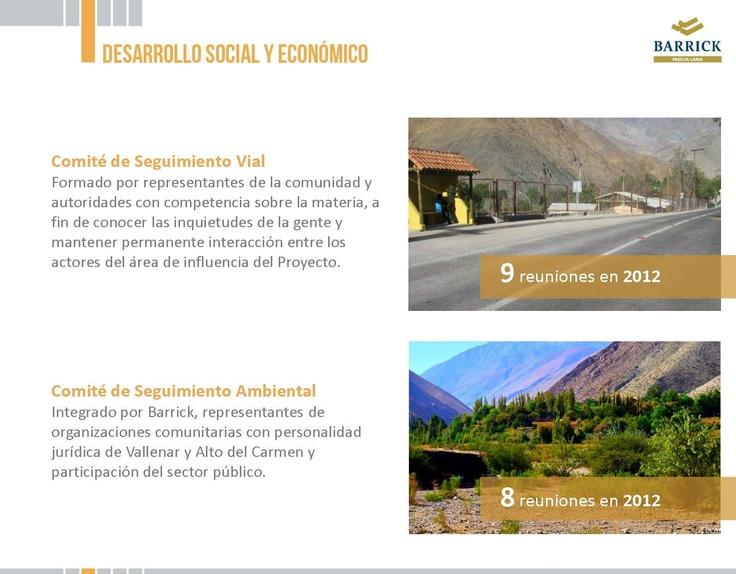 Comités de Seguimiento - Infografía completa en el sitio de Pascua-Lama http://pascua-lama.com
