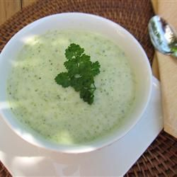 "Best Cream Of Broccoli Soup | ""I absolutely love this recipe. Even my kids who dislike broccoli always leave their bowl empty and asking for seconds! Thanks for this wonderful recipe!"""