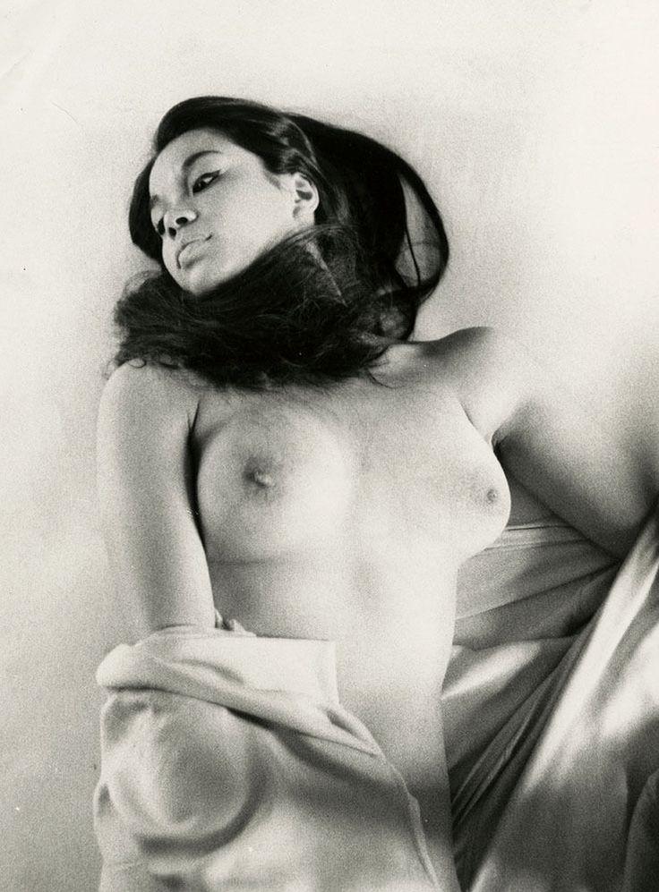 Peter Basch Vintage Fine Art Nude Photograph Mod Vicki Racimo Pin-Up Portrait NR