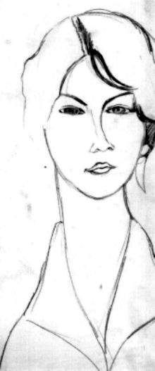 modigliani drawings - Google Search                                                                                                                                                     Más
