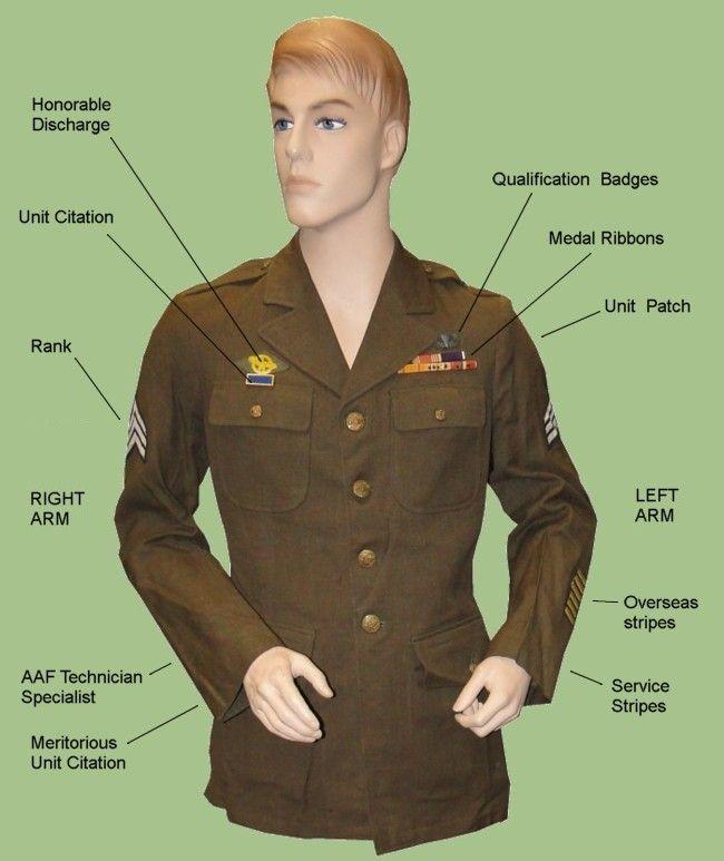 Ww 2 Army Rank Google Search Army Air Force