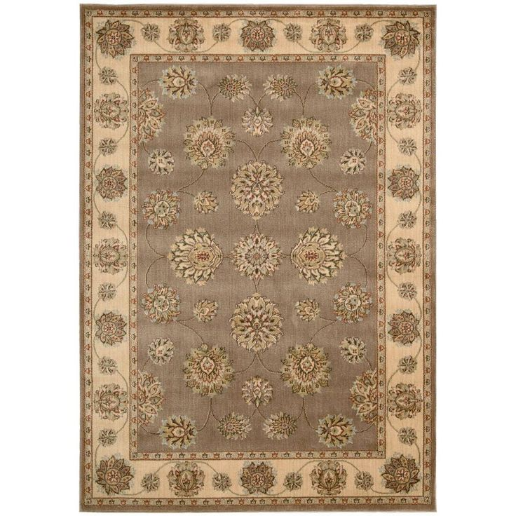 Visit The Home Depot To Buy Nourison Prestige Mocca 5 Ft X 7