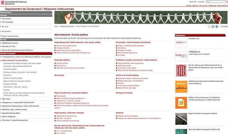 Aquí trobareu tota la informació de la Funció Pública de la Generalitat de Catalunya