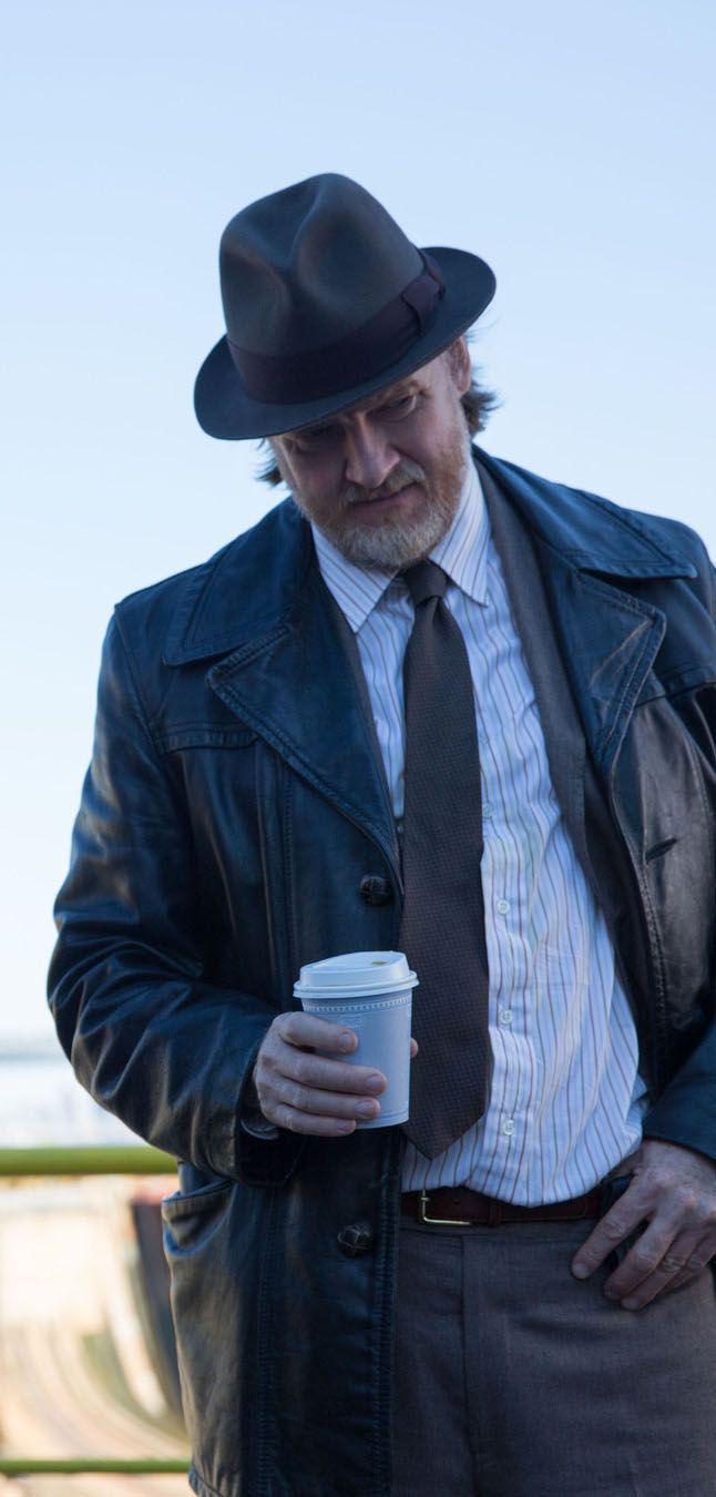 Gotham - 1x08 The Mask - Harvey Bullock