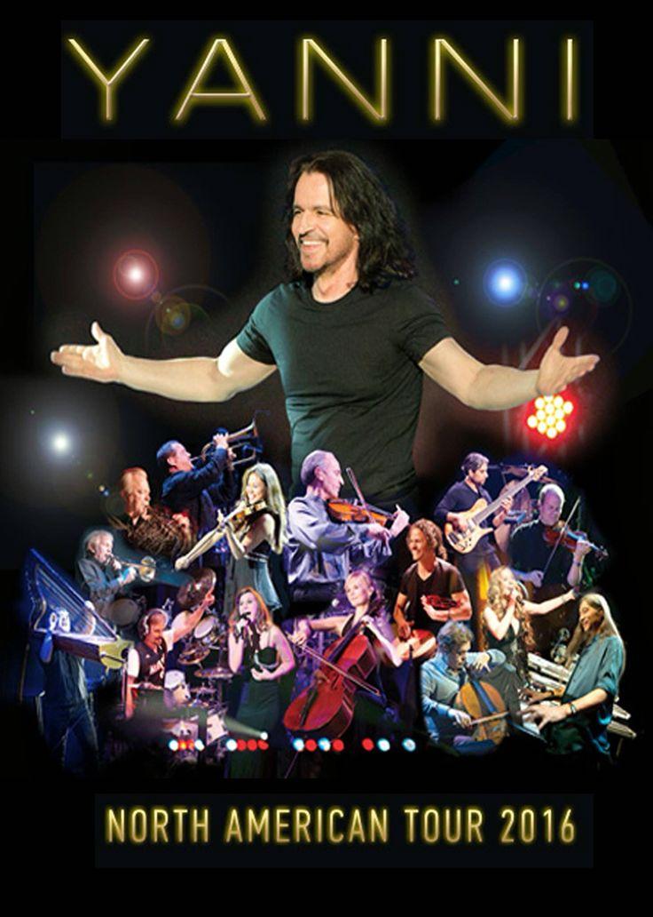 Yanni  Tour Dates