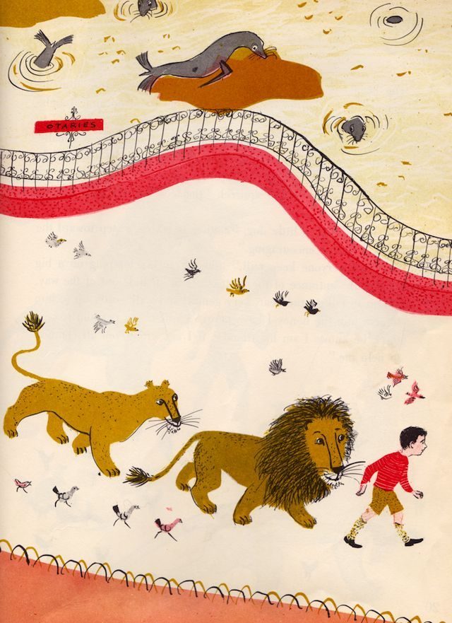 The Happy Lion and the Bear, illustrated by Roger Duvoisin