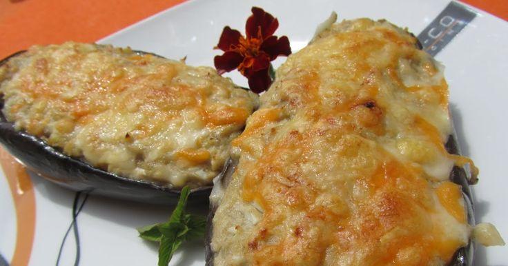 Deliciosas y sanas, Berenjenas de atún , más fáciles, imposible. Con Thermomix .