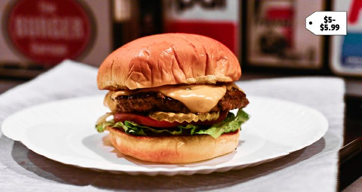 The Best Burger in NYC for Every Budget | Choose anywhere been $2 - $20 and get a great burger suggestion. #burgers #nyc #boomerangdining