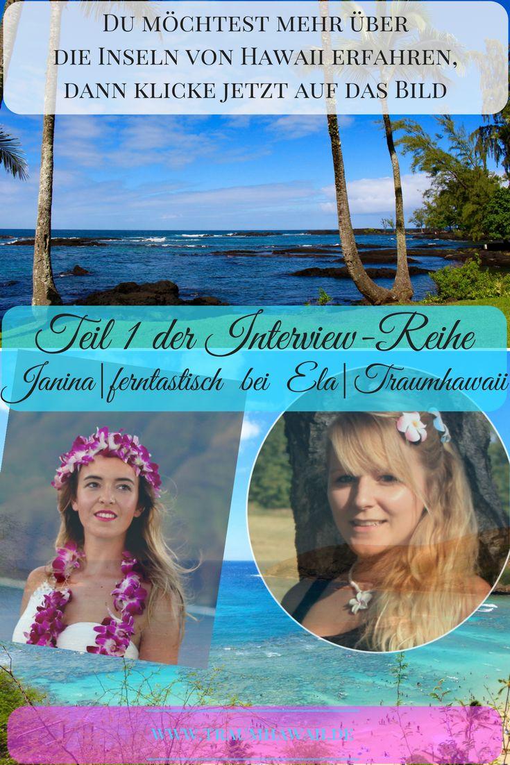 Teil 1 der Interview-Reihe beginnt mit Janina von ferntastisch. Jede Frage, die Du Dir zu Hawaii gestellt hast habe ich zu einem Interview zusammengefasst.