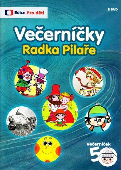 Večerníčky Radka Pilaře na DVD