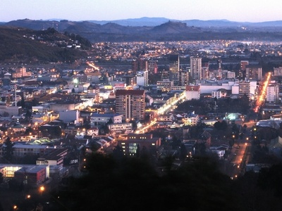 Temuco at night