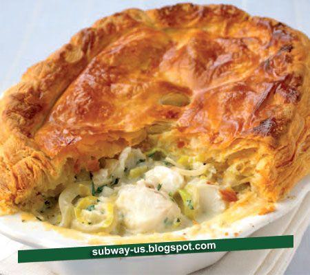 fish and leek pie recipe