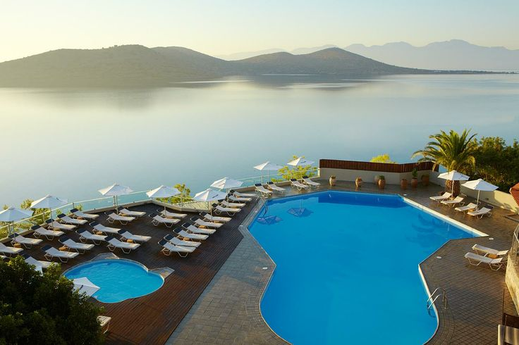 Elounda Blu Hotel in Crete. No kids policy