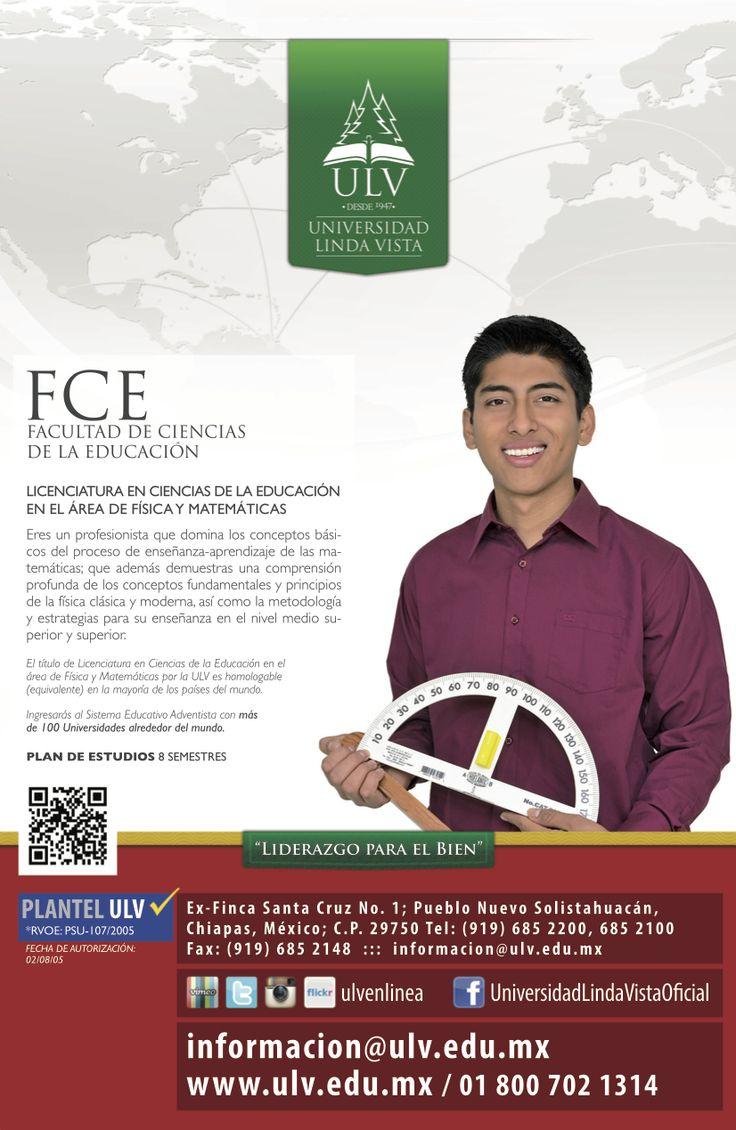 Licenciatura en Ciencias de la educación en Física y Matemáticas