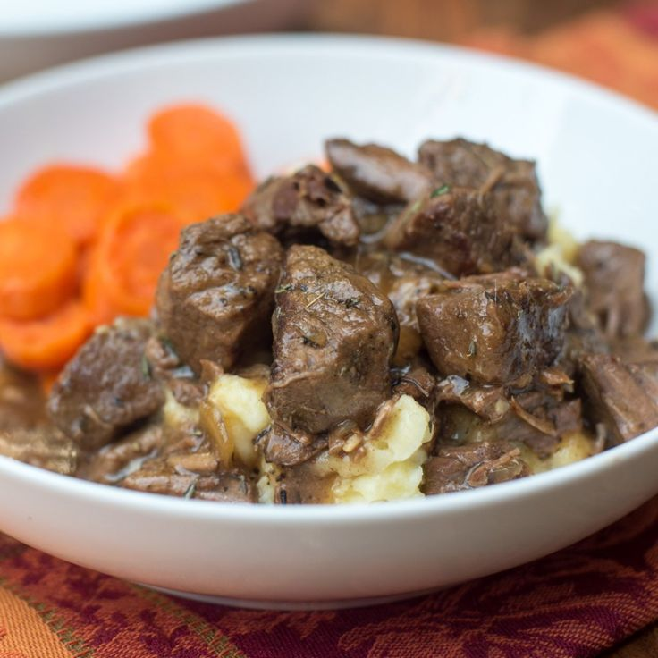 A delicious way to prepare steak in the cold fall and winter months. Slow Cooker Beef Tips with Gravy is a satisfying, family-friendly meal. With a little help from your slow cooker you can have this delicious, satisfying meal on your menu any night of the week.